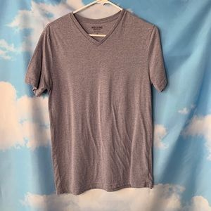 Mossimo- Gray/Purple Short Sleeve Tee size Small